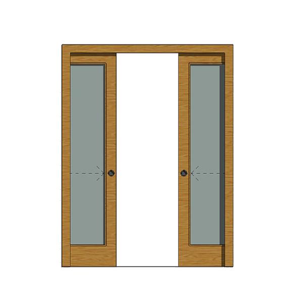 Puerta corredera 20